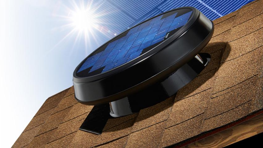 5 Reasons Why Your Home Needs a Solar Powered Roof Fan | Hometech